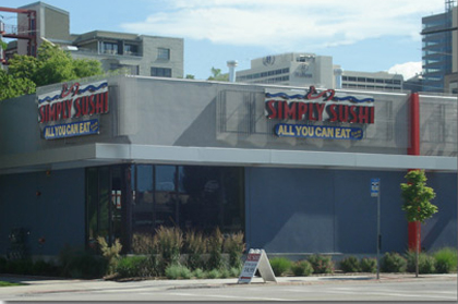 Simply Sushi - Dowtown Salt Lake City Locations