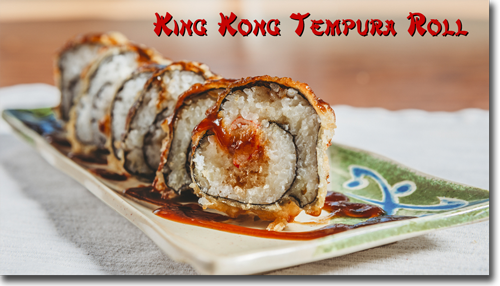 King Kong Tempura Roll