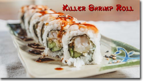Killer Shrimp Roll