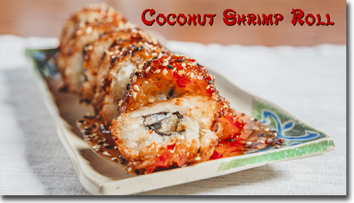 Coconut Shrimp Roll